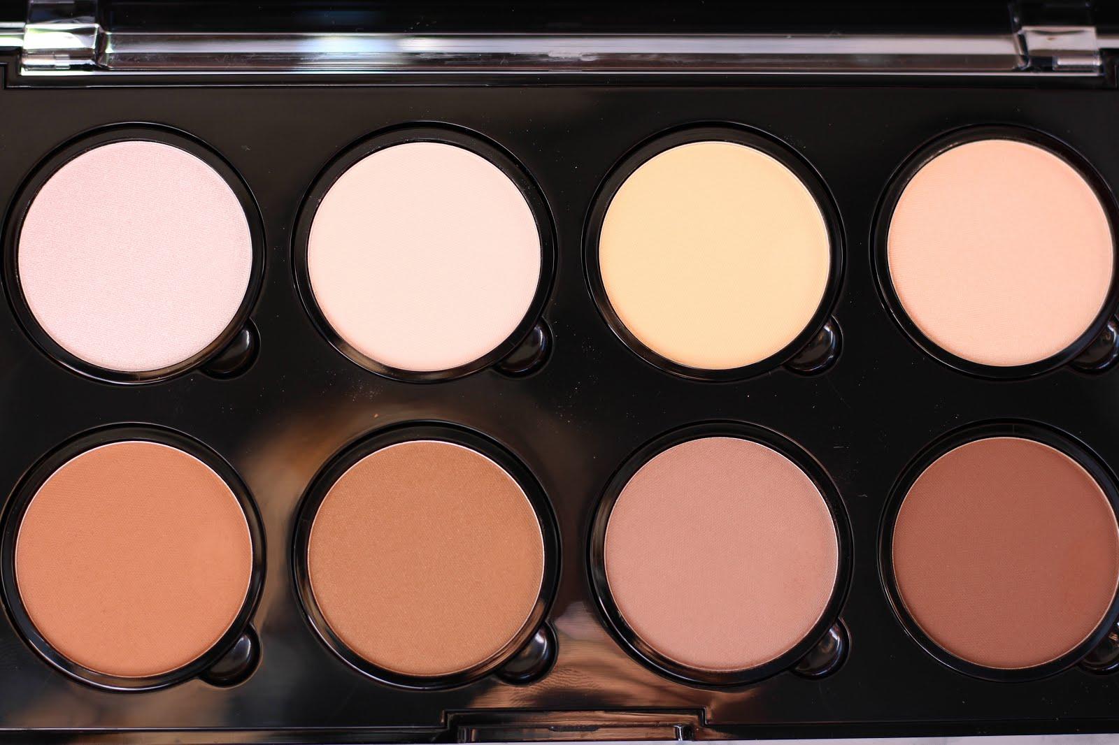 nyx contour palette, nyx highlight & contour pro palette, nyx pro palette, nyx contouring palette
