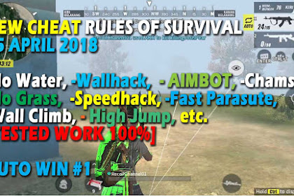 Cheat Rules of Survival Glutamin 5.0 Update 15 April 2018