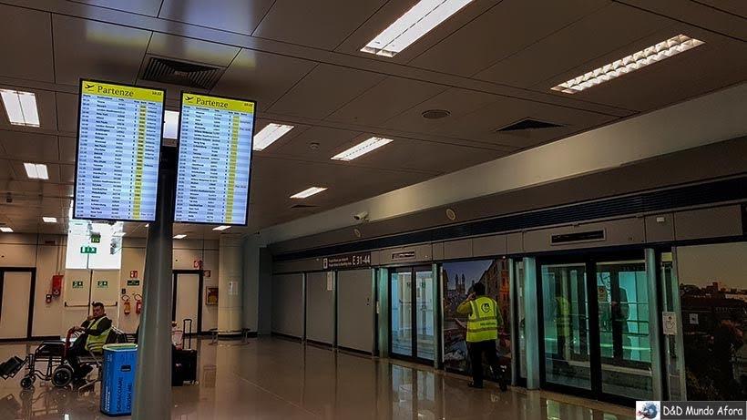 Aeroporto de Roma - Diário de Bordo: 3 dias em Roma