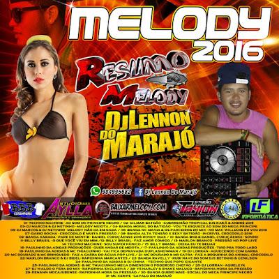 CD MELODY 2016 - LENNON DO MARAJÓ