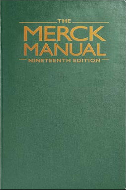 The Merck Manual of Diagnosis and Therapy 19th Edition (2011) [PDF]
