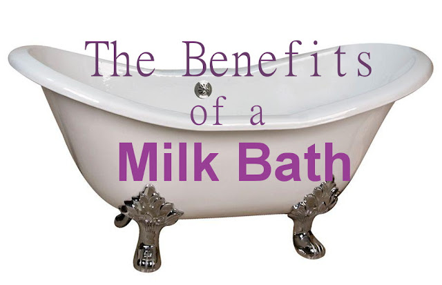 Eclectic Red Barn: Benefits of a Milk Bath