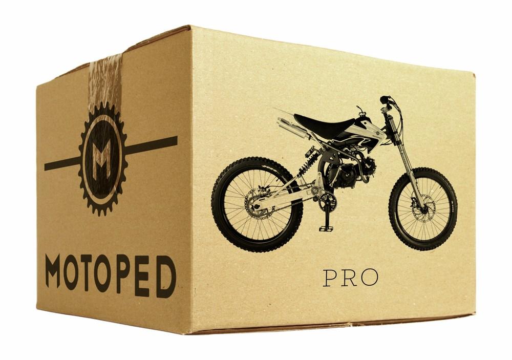 Motoped - Sepeda Custom All Terrain Bermesin ala Motor Pro MTB Downhill 1