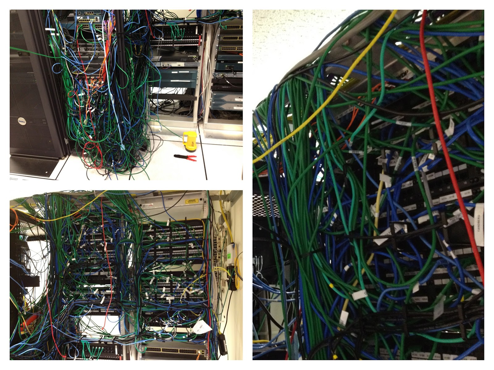 Don't give up on your poor cabling jobs