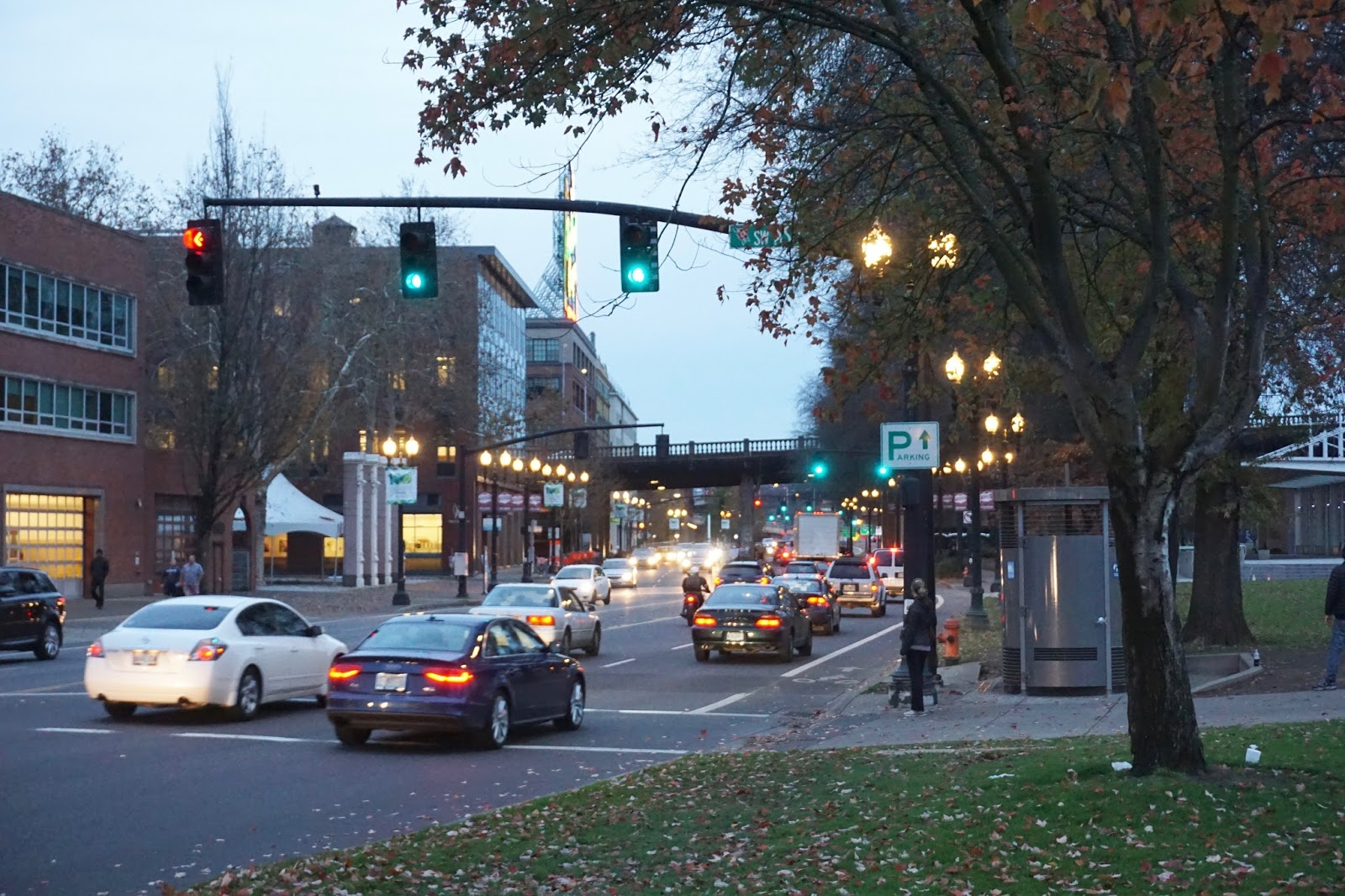 portland, oregon, traffic lights