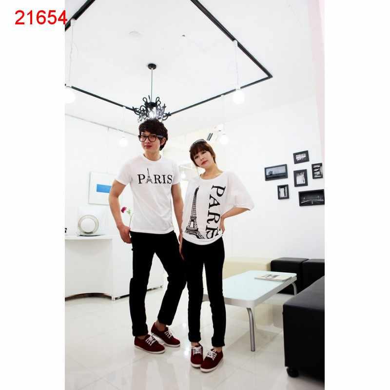 Jual Baju Couple Paris Batwing - 21654