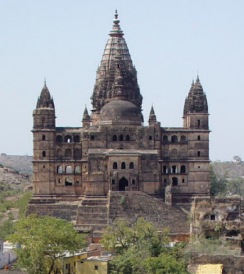 View of Chaturbhuj Tenple, Orchha