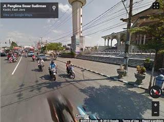 street view jalan kediri
