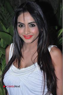 Actress Model Pooja Sri Stills in White Short Dress at F Club pre soft Launch  0007.JPG