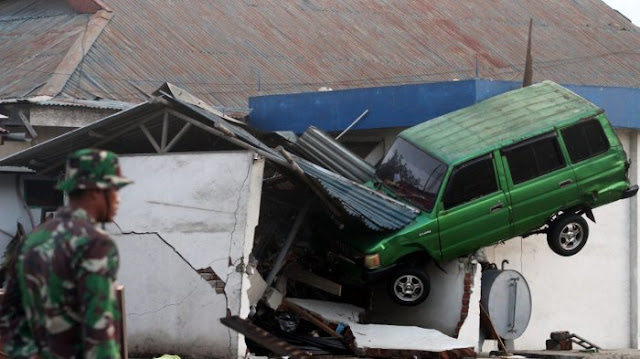 BNPB Mencatat Terjadi 170 Gempa Susulan Pasca Gempa Magnitudo 7,4 di Sulawesi Tengah