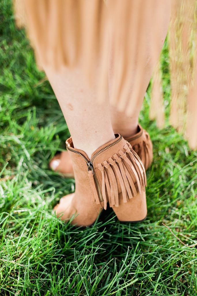 KBStyled: target target shoes target sandals fringe booties