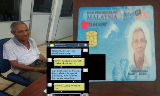 viral  dia Tinggalkan Pakcik Dlm Ladang Kelapa Sawit Sorang sorang  Anak Sanggup Buang Dan Tinggalkan Ayah Berlapar Baca Luahan Pilu Seorang Ayah