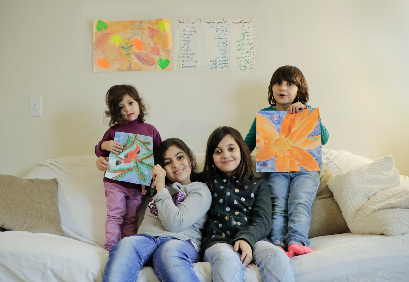 Sisters from Homs, Syria
