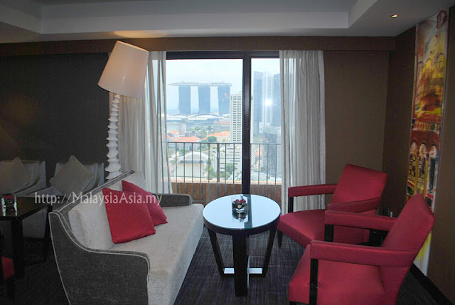 Singapore Novotel Premier Lounge