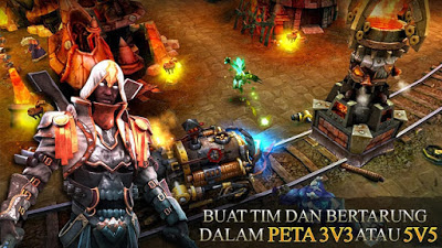 Download Heroes of Order & Chaos Mod Apk Data v3.6.1E