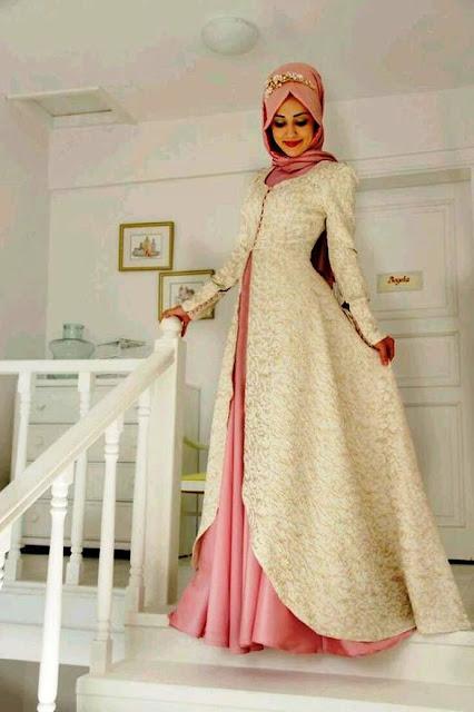 Inspirasi Gaun Muslimah Cantik dan Trendy 2001626