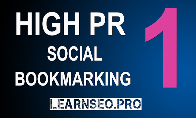HIGHPR 1 Social Bookmarking Sites