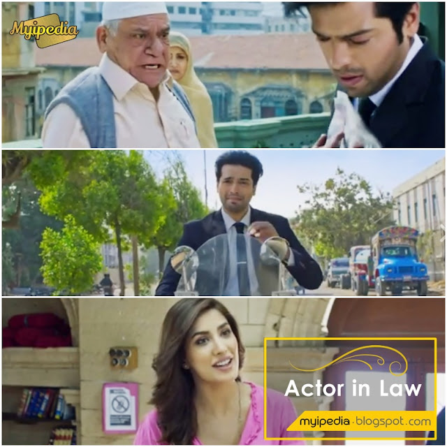 Actor In Law Starting Fahad Mustafa, Mehwish Hayat & Om Puri - First Look
