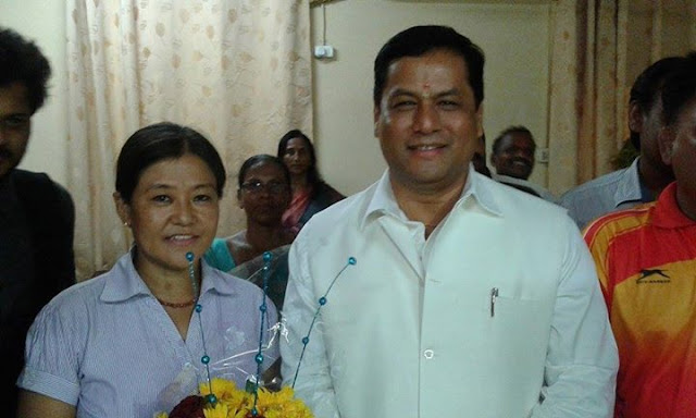 Gorkha Youth Icon Roshni Rai Meets Central Sports Minister