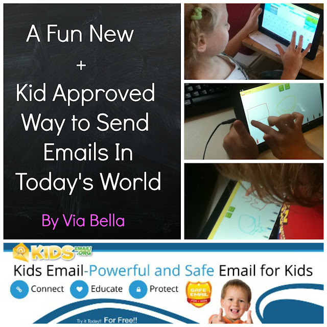 A Fun New + Kid Approved Way to Send Emails In Today's World, Homeschool Review Crew, TOS Review Crew, Kid's Email, Parenting, Socialising, Kids, Email, email for kids, email security, family, homeschool, product review, Via Bella