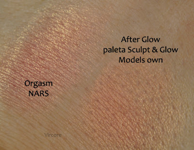 models own sculpt and glow