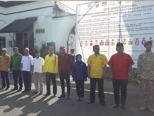 Deklarasi Pemilu Damai Bandung