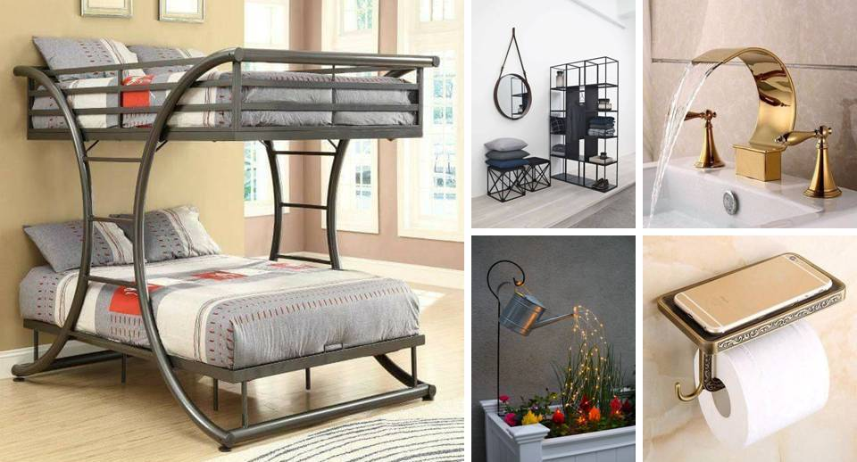 15 Decorative Indoor Wrought Iron Furniture - Decor Units