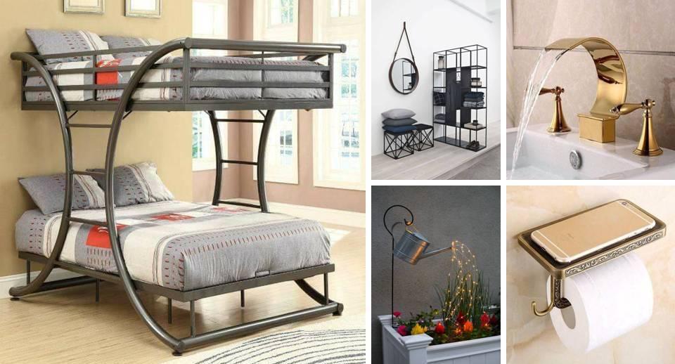 15 Decorative Indoor Wrought Iron Furniture - Decor Units