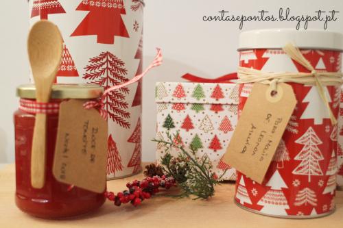 Cabazes de Natal homemade