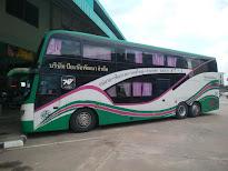タイ縦断バス