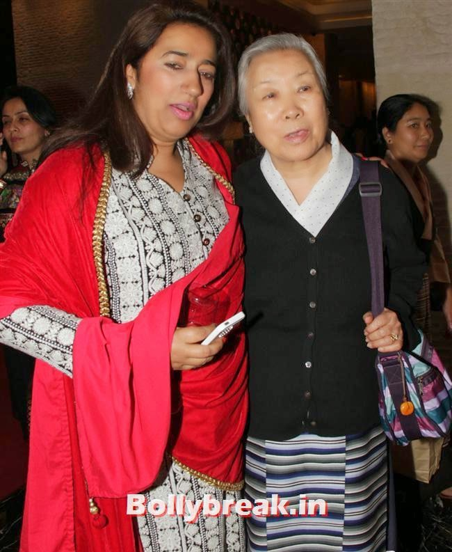 Anu Ranjan and Ama Pema Jetsun, Shriya Saran, Sridevi, Tamanna at GR8 Women Awards 2014