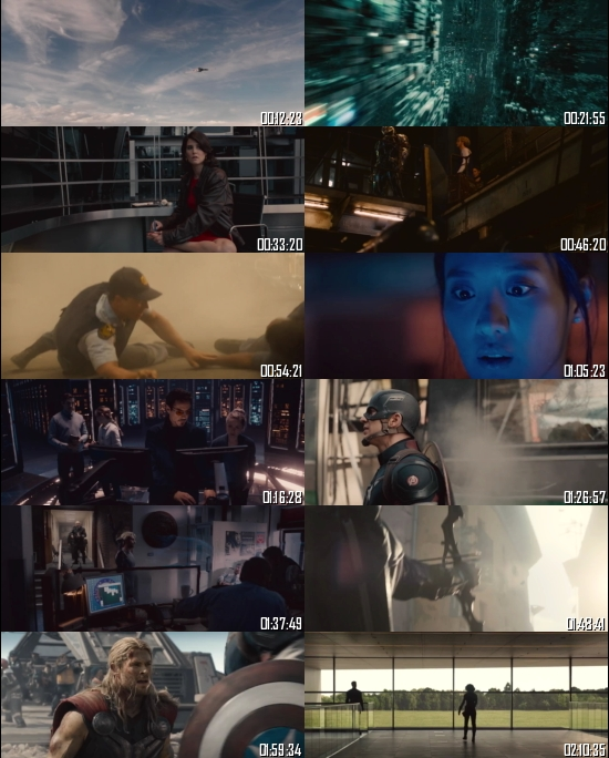 Avengers Age of Ultron 2015 BRRip 720p 480p Dual Audio Hindi English Full Movie Download