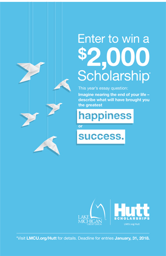 News from LMCU Lloyd F Hutt Scholarship Call For Entries Begins