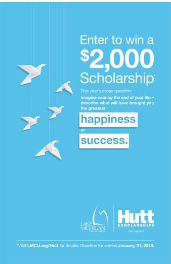 News from LMCU: Lloyd F. Hutt Scholarship Call For Entries Begins