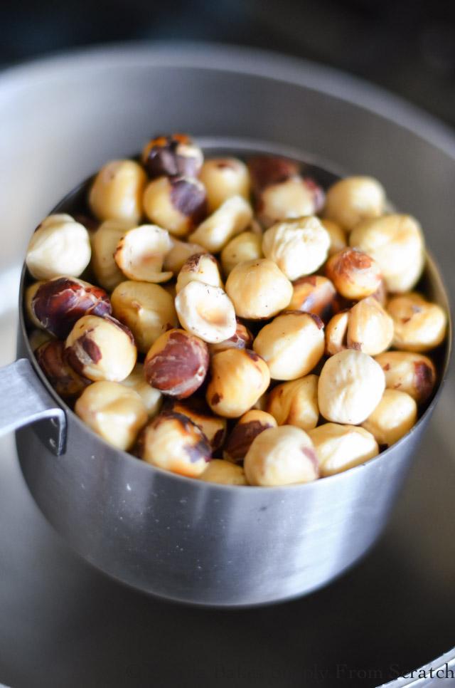 Skinned Hazelnuts for Spiced Candied Hazelnuts.