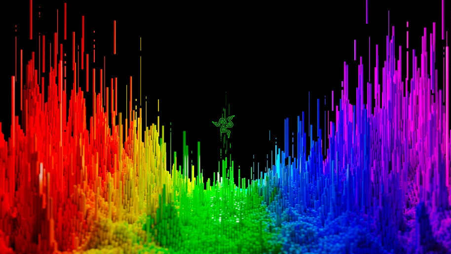 Razer, Logo, Colorful, Abstract, 4K, #8