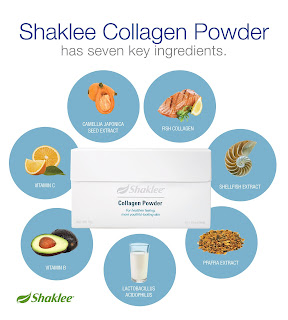 Ramuan istimewa Shaklee Collagen Powder