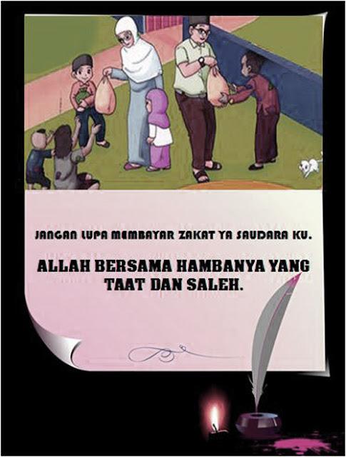 Membayar zakat sebagai rukun Islam adalah kewajiban bagi orang yang mampu