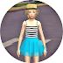 child_ballerina mini skirt & crop top_발레리나 미니 스커트와 크롭탑_어린이 의상