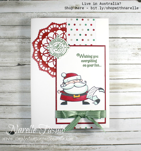 For all your Christmas crafting needs, visit my online store - http://bit.ly/shopwithnarelle