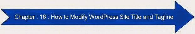 Next: How to Modify WordPress Site Title and Tagline