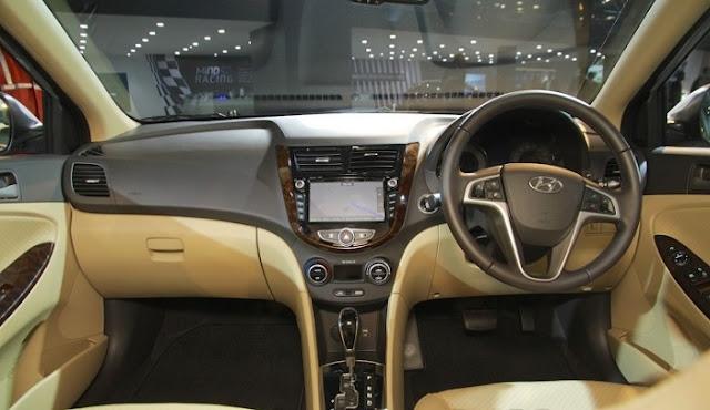 2017 Hyundai Verna Interior