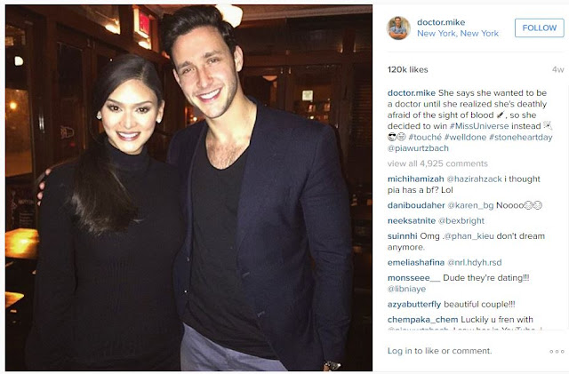 Truth Behind The Relationship Of Pia Wurtzbach And The Sexiest Doctor Alive Revealed!