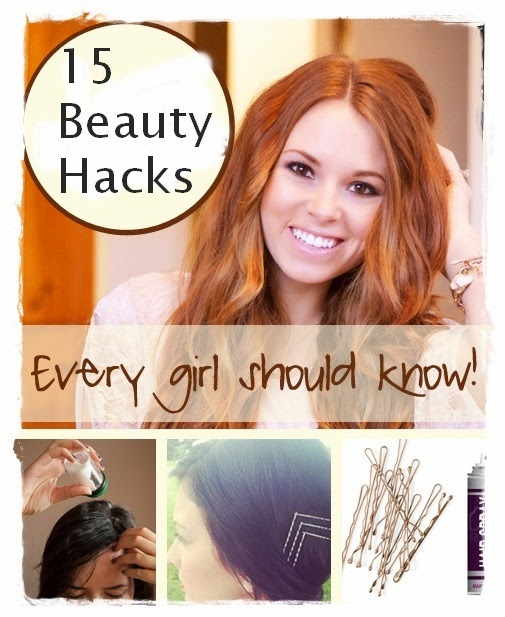 15 Beauty Hacks Every Woman Should Know