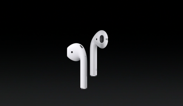 With the introduction of new iPhone 7 and 7 Plus, Apple introduces a new wireless Airpods with sensors which reduces external noise that has five hours of listening on a single charge