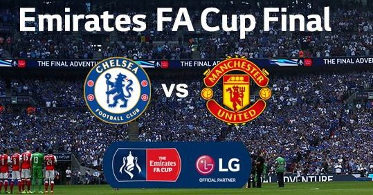 Jadwal Final Piala FA Manchester United vs Chelsea