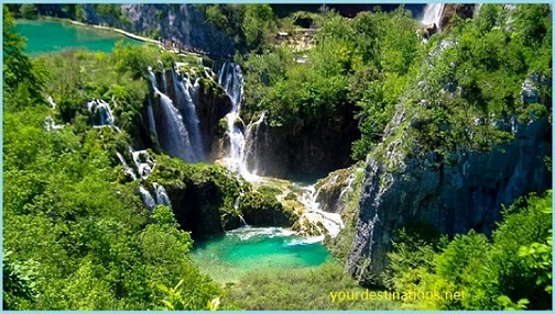The Plitvice Waterfall 3