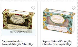 Comanda online de aici sapunuri naturale imbogatite cu uleiuri naturale