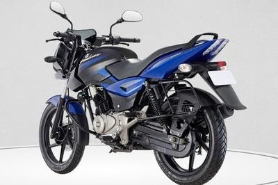 Bajaj Pulsar 150 DTSi side view three qauter image
