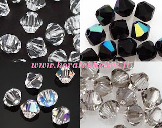 Preciosa kristalli lasihelmet, helmikauppa, tsekkiläiset lasihelmet, korutarvikkeet,